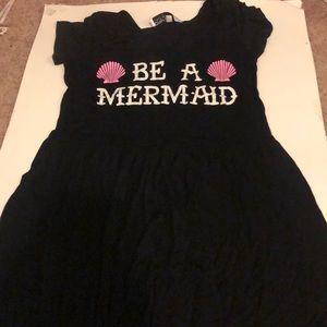 "Little back dress ""BE A MERMAID"""